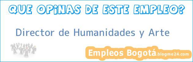 Director de Humanidades y Arte