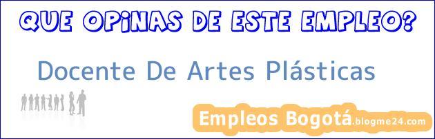 Docente De Artes Plásticas