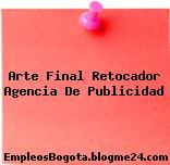 Arte Final Retocador Agencia De Publicidad