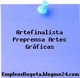 Artefinalista Preprensa – Artes Gráficas