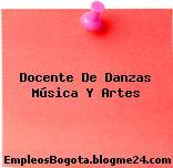 Docente De Danzas Música Y Artes
