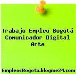 Trabajo Empleo Bogotá Comunicador Digital Arte