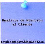Analista de Atención al Cliente