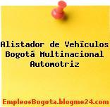 Alistador de Vehículos Bogotá Multinacional Automotriz