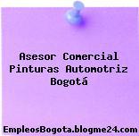 Asesor Comercial Pinturas Automotriz Bogotá