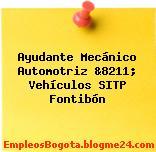 Ayudante Mecánico Automotriz &8211; Vehículos SITP Fontibón