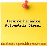 Técnico mecánico automotriz diesel