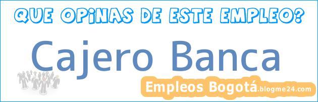 Cajero Banca