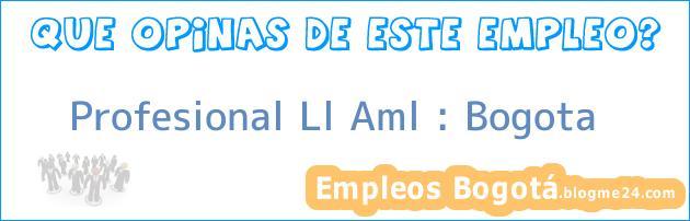 Profesional Ll Aml : Bogota