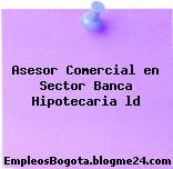 Asesor Comercial en Sector Banca Hipotecaria ld