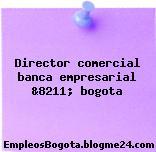 Director comercial banca empresarial &8211; bogota