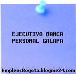 EJECUTIVO BANCA PERSONAL GALAPA