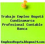 Trabajo Empleo Bogotá Cundinamarca Profesional Contable Banca