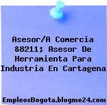 Asesor/A Comercia &8211; Asesor De Herramienta Para Industria En Cartagena