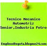 Tecnico Mecanico Automotriz Senior,Industria Petro