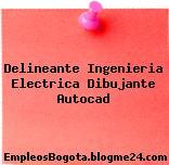 Delineante Ingenieria Electrica Dibujante Autocad