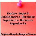 Empleo Bogotá Cundinamarca Aprendiz Ingenieria Mecanica Ingeniería