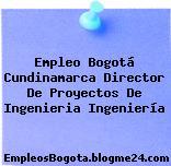 Empleo Bogotá Cundinamarca Director De Proyectos De Ingenieria Ingeniería