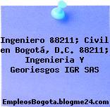 Ingeniero &8211; Civil en Bogotá, D.C. &8211; Ingenieria Y Georiesgos IGR SAS