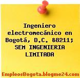 Ingeniero electromecánico en Bogotá, D.C. &8211; SEM INGENIERIA LIMITADA