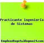 Practicante Ingenieria de Sistemas