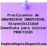 Practicantes de INGENIERIA INDUSTRIAL Disponibilidad Inmediata para iniciar PRACTICAS