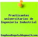 Practicantes universitarios de Ingenieria Industrial