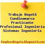 Trabajo Bogotá Cundinamarca Practicante Profesional Ingenieria Sistemas Ingeniería