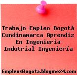 Trabajo Empleo Bogotá Cundinamarca Aprendiz En Ingenieria Indutrial Ingeniería
