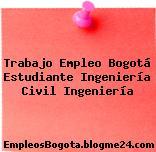 Trabajo Empleo Bogotá Estudiante Ingeniería Civil Ingeniería