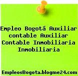 Empleo Bogotá Auxiliar contable Auxiliar Contable Inmobiliaria Inmobiliaria