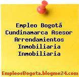 Empleo Bogotá Cundinamarca Asesor Arrendamientos Inmobiliaria Inmobiliaria