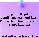 Empleo Bogotá Cundinamarca Auxiliar Contable: Inmobiliaria Inmobiliaria