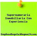 Supernumeraria Inmobiliaria Con Experiencia