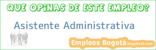 Asistente Administrativa