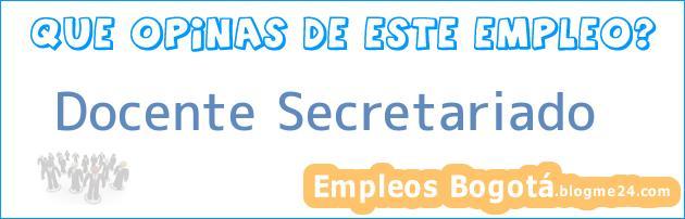 Docente Secretariado