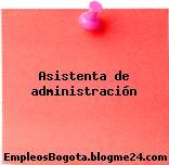 Asistenta de administración