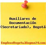 Auxiliares de Documentación (Secretariado), Bogotá