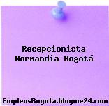 Recepcionista – Normandía Bogotá