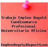 Trabajo Empleo Bogotá Cundinamarca Profesional Universitario Oficina