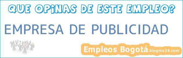 EMPRESA DE PUBLICIDAD