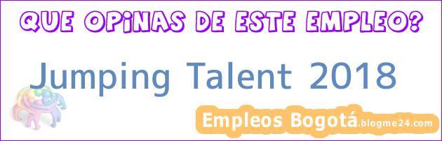 Jumping Talent 2018