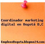 Coordinador marketing digital en Bogotá D.C