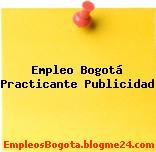 Empleo Bogotá Practicante Publicidad