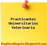 Practicantes Universitarios Veterinaria