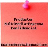 Productor Multimedia:Empresa Confidencial