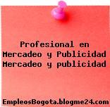 Profesional en Mercadeo y Publicidad Mercadeo y publicidad