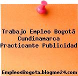 Trabajo Empleo Bogotá Cundinamarca Practicante Publicidad