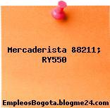 Mercaderista &8211; RY550