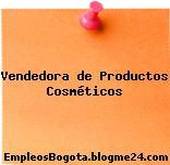Vendedora de Productos Cosméticos